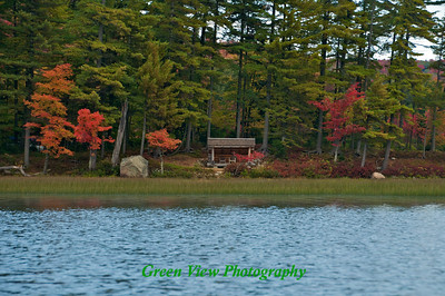 Lean To on Big Moose Lake - North Bay