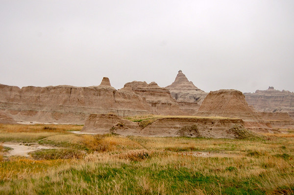 Badlands, NP, SD